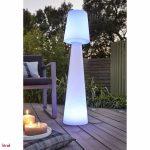 Lampe solaire design jardin