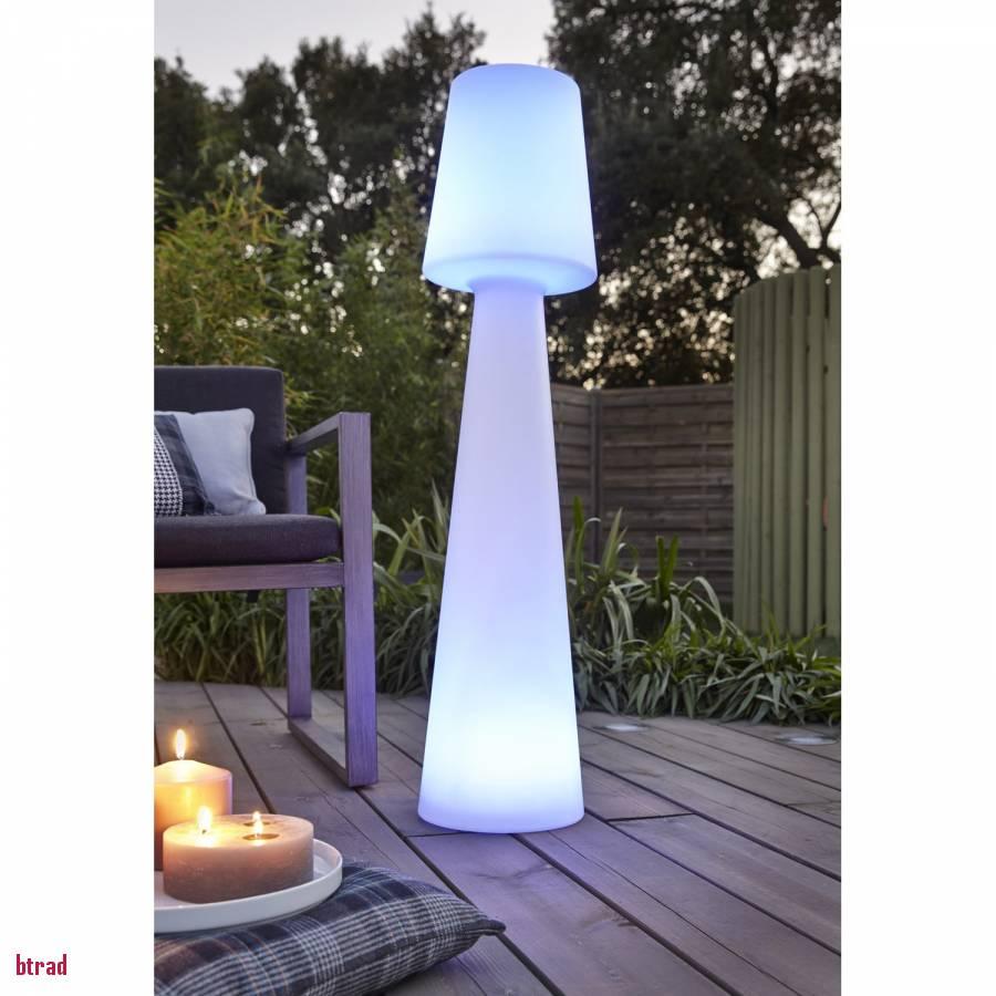 Lampe design exterieur solaire