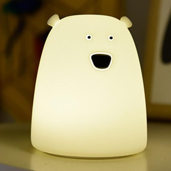 Lampe de chevet bébé ours