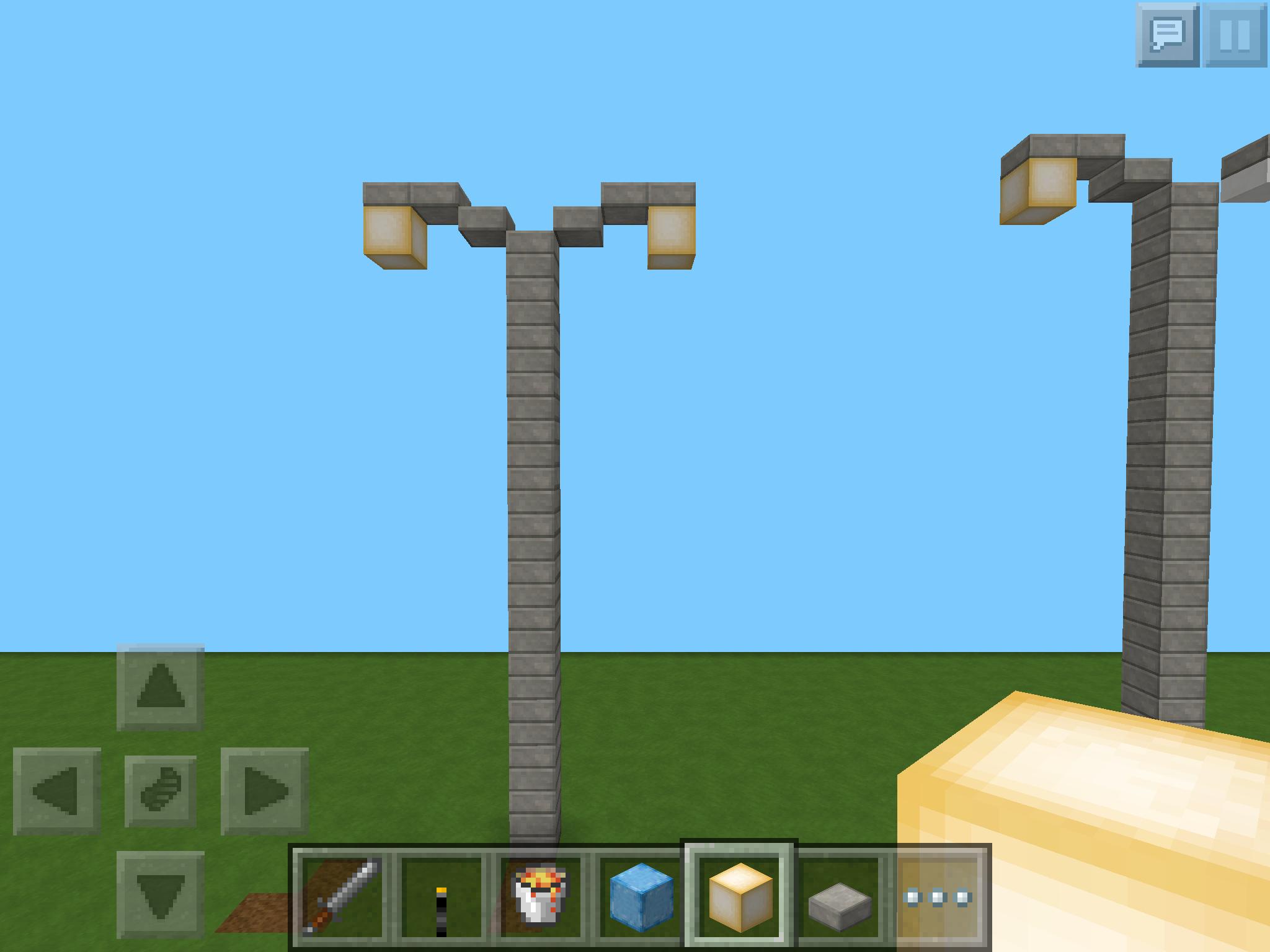 Minecraft design lampe