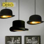 Lampe chapeau design