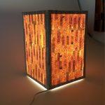 Lampe ambiance design bois