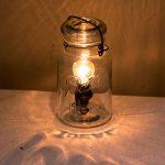 Lampe de chevet recyclage