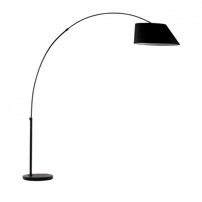 Lampe sur pied en arc design