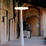 Lampadaire exterieur en polyethylene