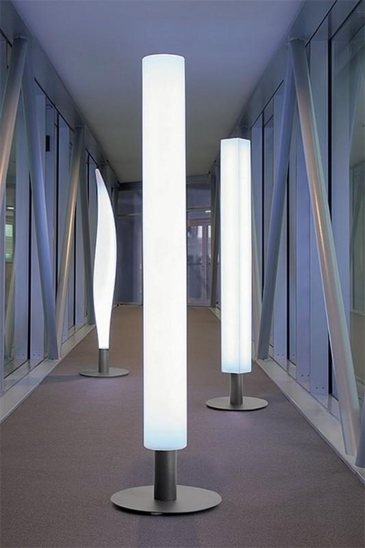 Lampadaire interieur original