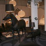 Lampe de bureau design cheval