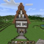 Minecraft lampadaire medieval