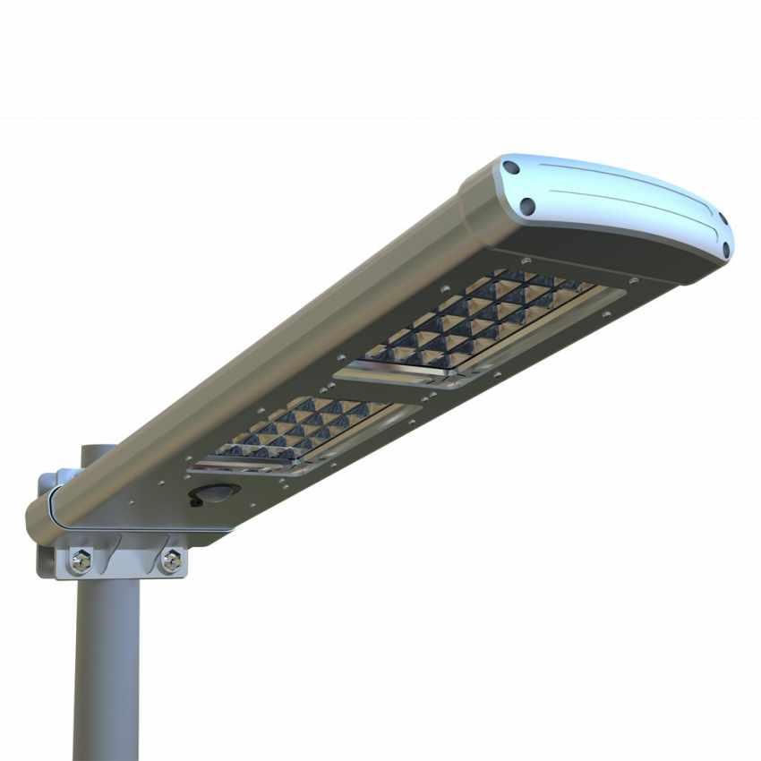 Lampadaire extérieur énergie solaire