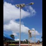 Lampadaire solaire puissant