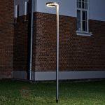 Lampadaire de terrasse exterieur inox