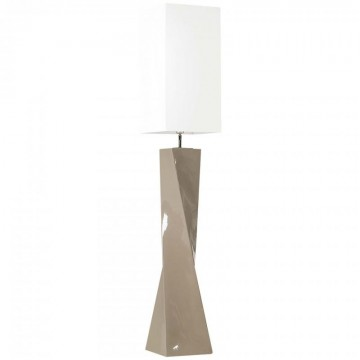 Lampadaire couleur taupe