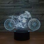 Lampe design moto