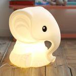 Lampe elephant design