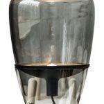 Lampe a poser design verre