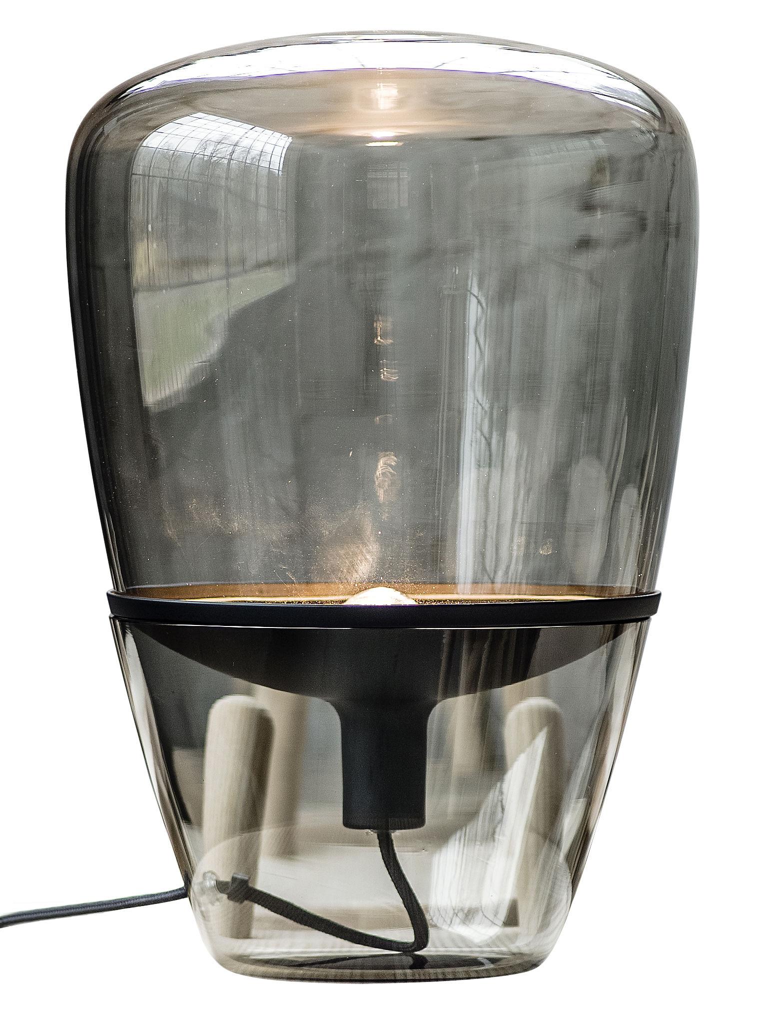 Lampe à poser en verre design