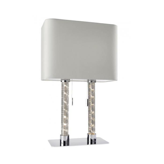 Lampe à poser design verre