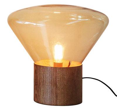 Lampe à poser verre design