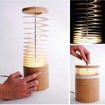 Lampe cylindre design