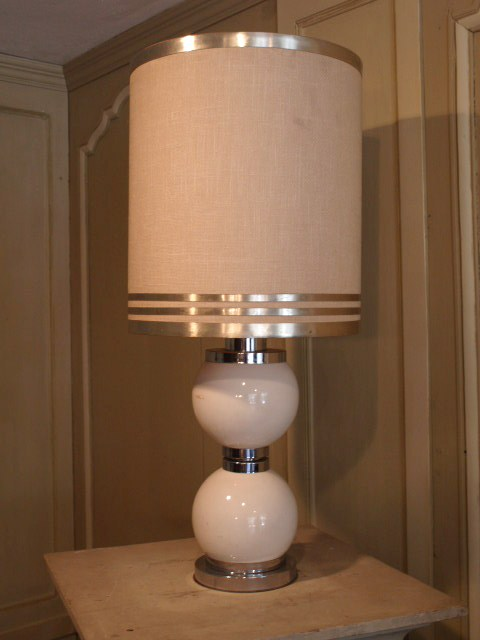 Design lampe année 70