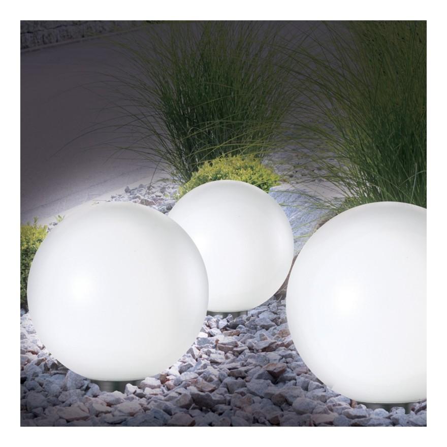Lampe boule design à poser