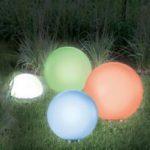 Boule lampadaire exterieur