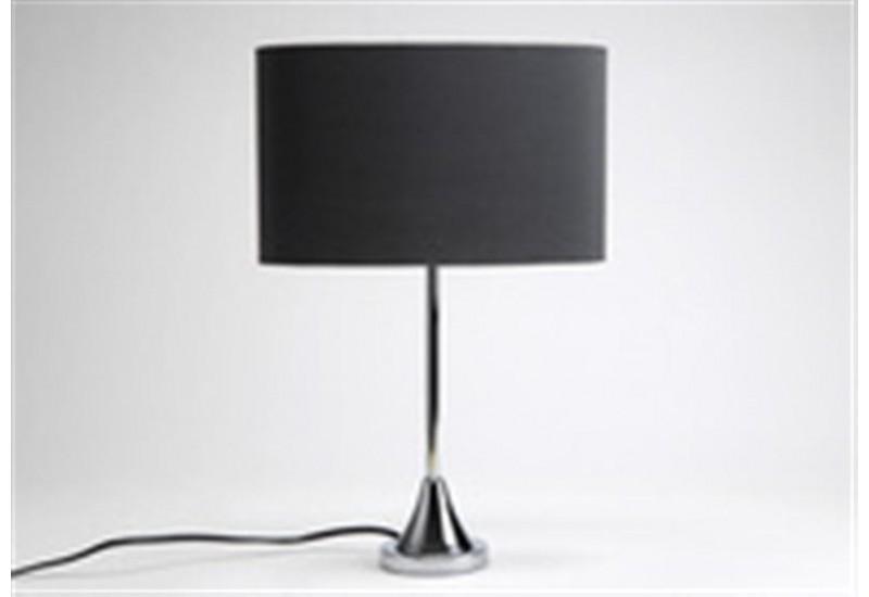 Lampe de chevet abat jour noir