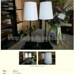 Le bon coin lampe design