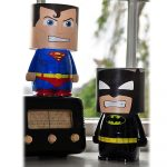 Lampe de chevet lego batman