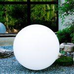 Lampadaire exterieur sphere