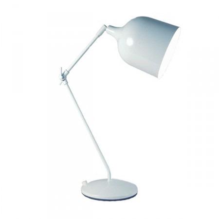 Lampe de salon design blanc