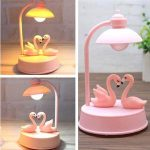 Lampe de chevet design rosier