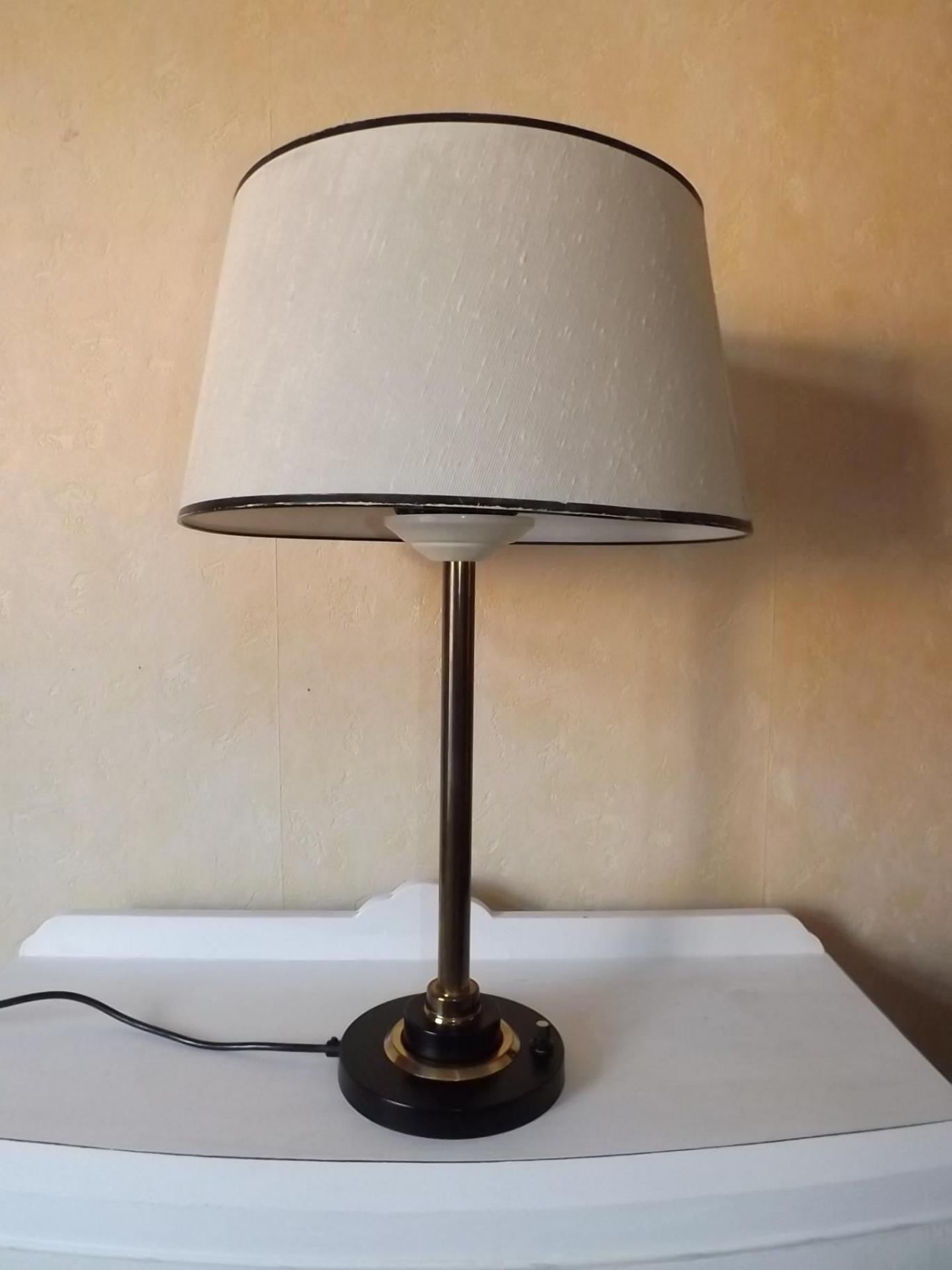 Lampe bureau design 1950