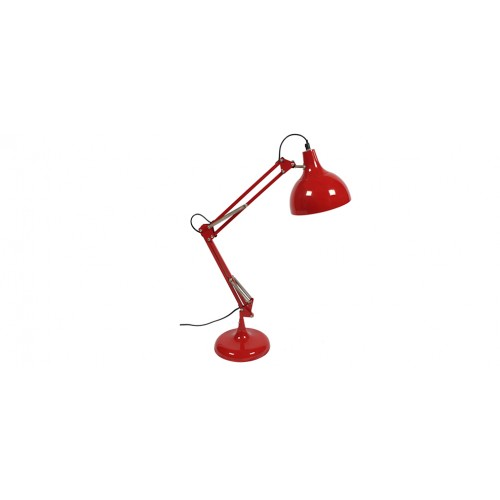 Lampe bureau rouge design