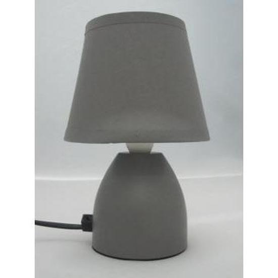 Lampe de chevet pied en metal