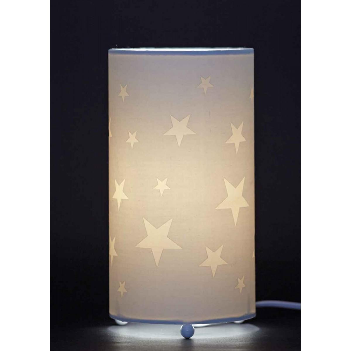 Lampe de chevet étoile enfant