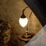 Lampe de chevet style oriental