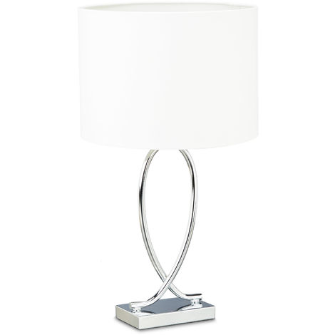 Lampe chevet design fer