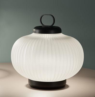 Lampe de table en verre design
