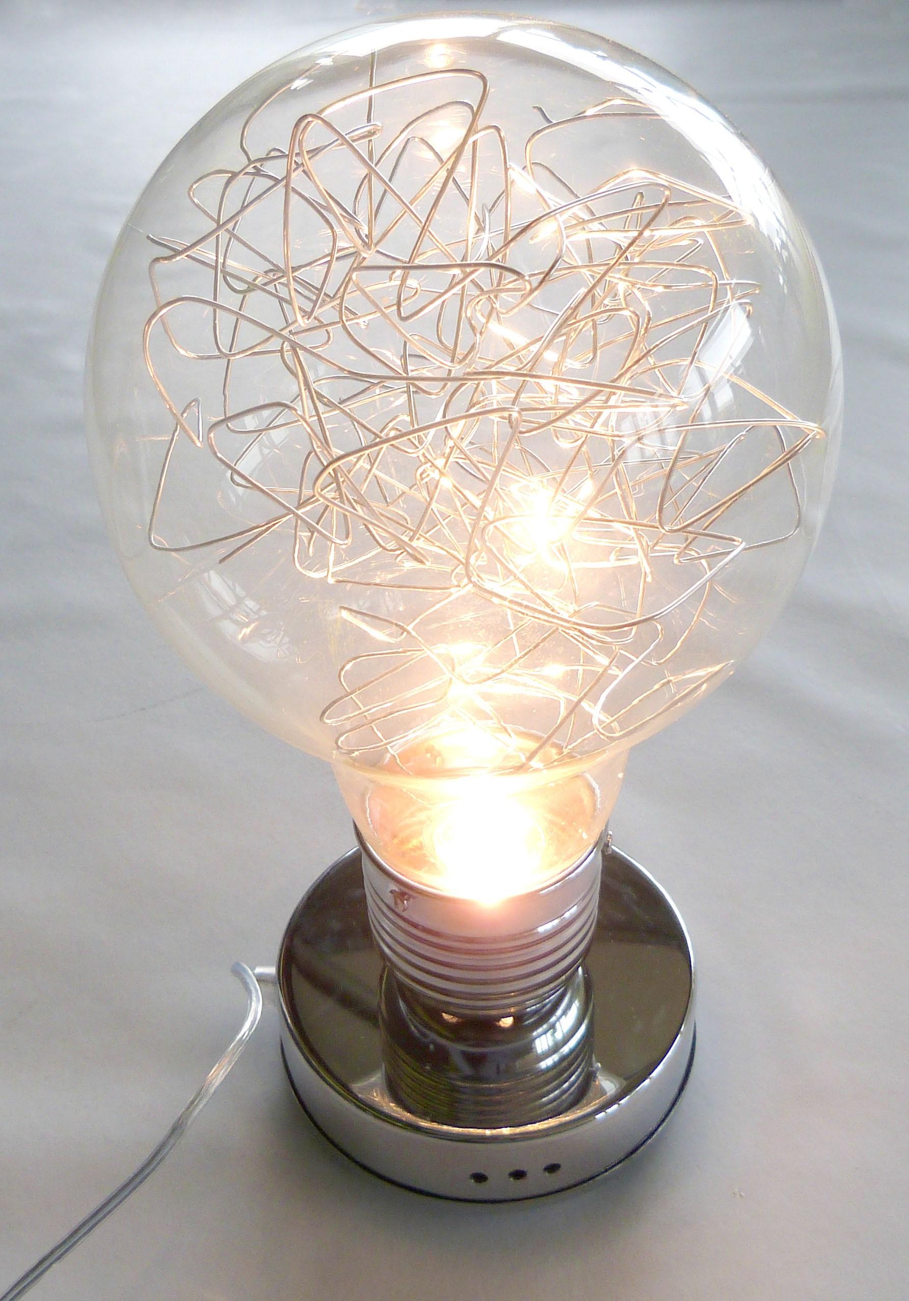Lampe de chevet en forme