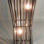 Lampe en acier design
