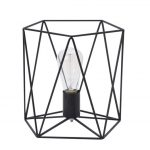 Lampe de chevet en metal