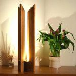 Design lampe bois