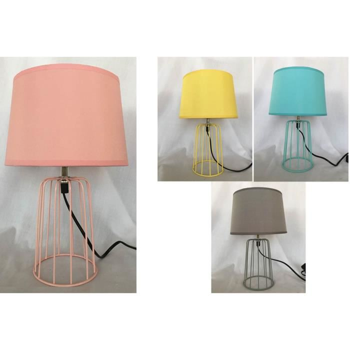 Lampe coloree design