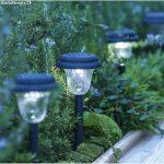 Lampadaire de jardin solaire