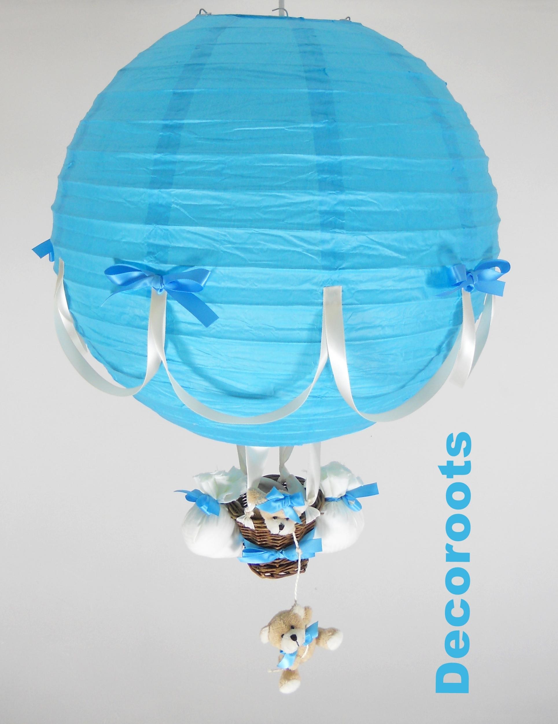 Lampe de chevet montgolfiere