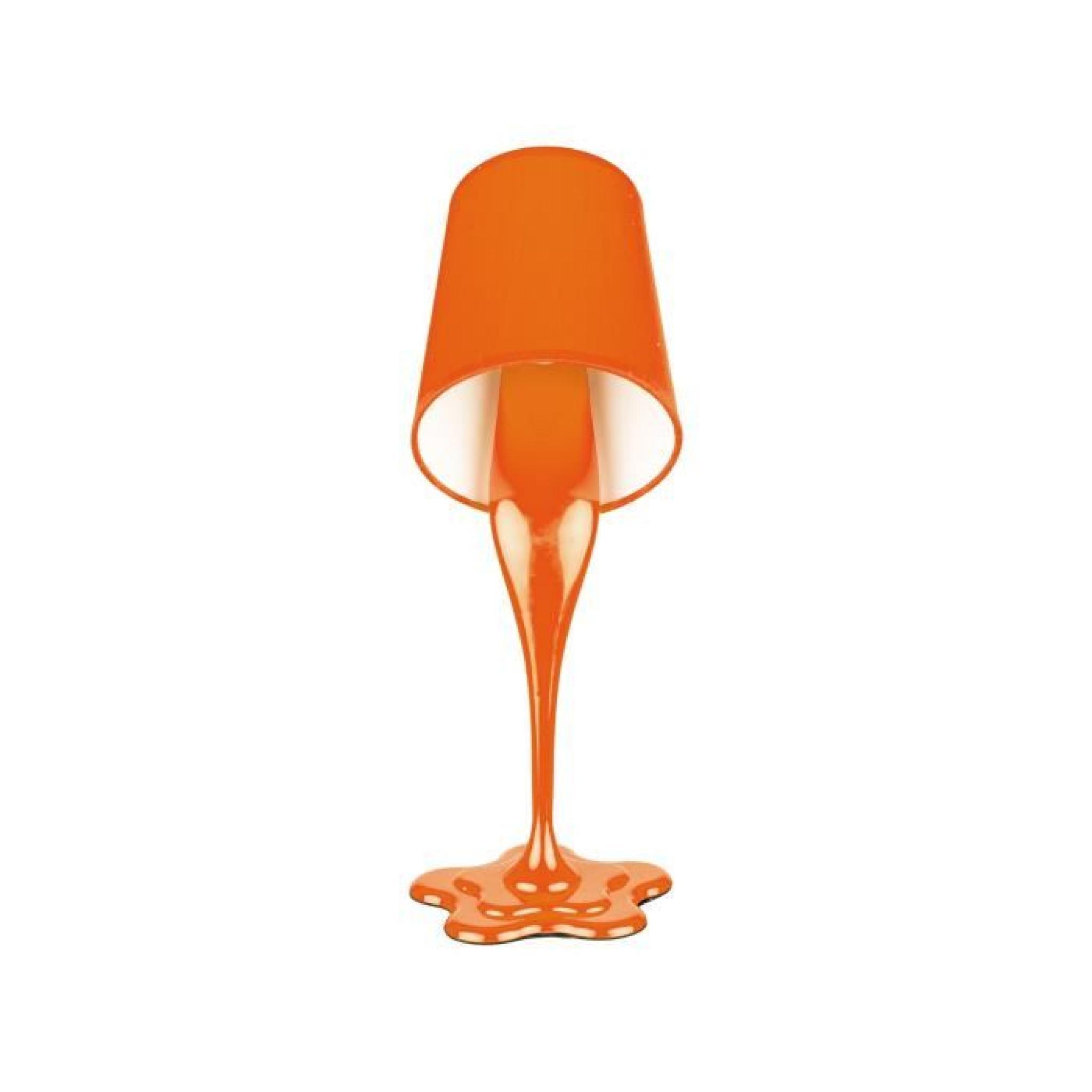 Lampe design pot peinture