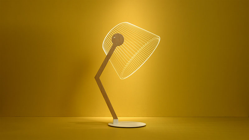 Lampe plate design