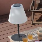 Lampe de table solaire design