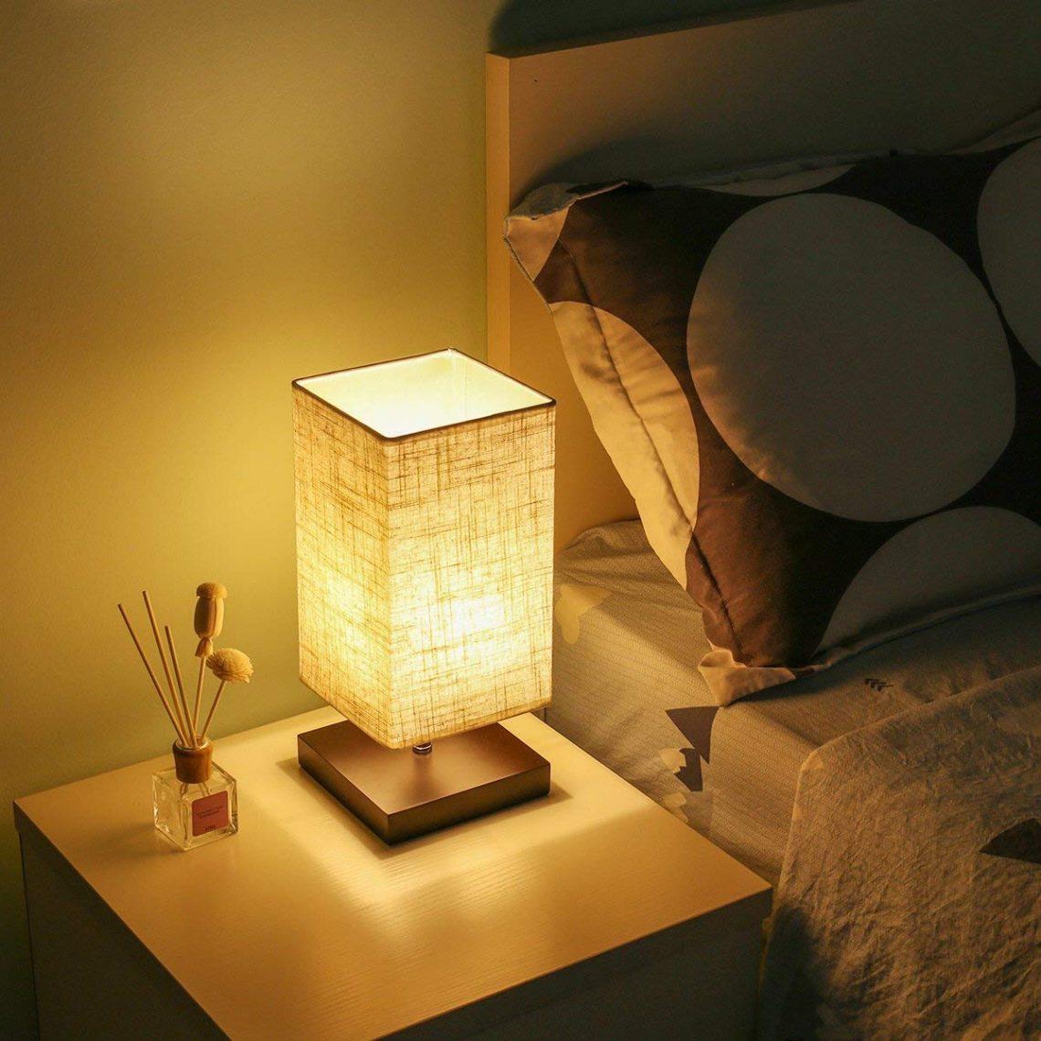 Lampe de chevet tube led